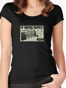 It Tapes Tapes! Women's Fitted Scoop T-Shirt