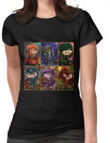 Seven Knights of Halloween Womens Fitted T-Shirt