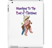 Marching to the Beat of Christmas  iPad Case/Skin