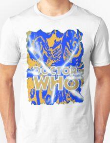 Exploding Blue Police Call Box T-Shirt