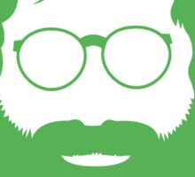 Jerry Face (Green Color) Sticker