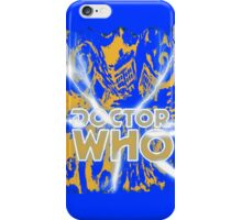 Exploding Blue Police Call Box iPhone Case/Skin