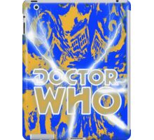 Exploding Blue Police Call Box iPad Case/Skin