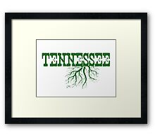 Tennessee Roots Framed Print