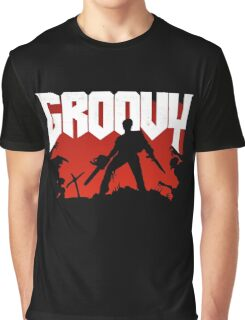 Doomy and Groovy Graphic T-Shirt