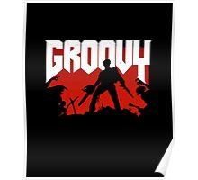 Doomy and Groovy Poster