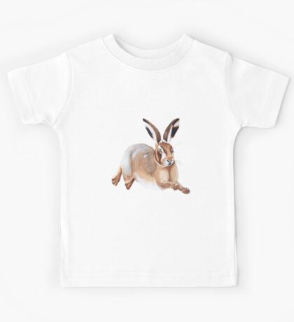 A Leaping Hare Kids Tee