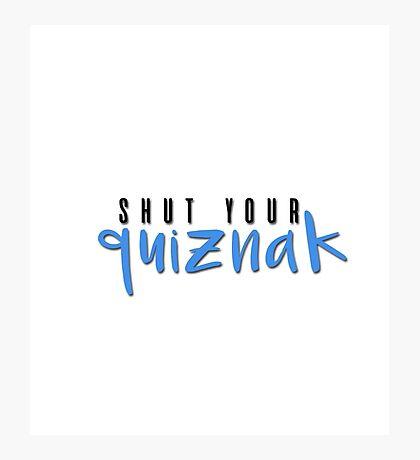 quiznak Photographic Print