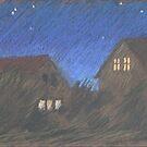 laue Nacht by HannaAschenbach