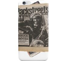 Out On The Backstreets iPhone Case/Skin