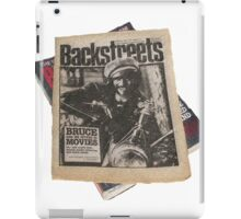 Out On The Backstreets iPad Case/Skin
