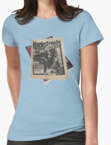 Out On The Backstreets Womens Fitted T-Shirt