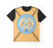 Facing the disk Graphic T-Shirt