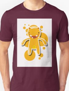 Card with cute colorful monster Unisex T-Shirt