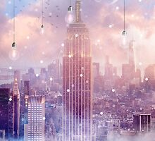 All of the Stars / City Dreams NYC (City Lights Series) by soaringanchor