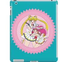 Sailor Moon & Sailor ChibiMoon iPad Case/Skin