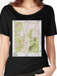 USGS TOPO Map California CA Blanco Mountain 100322 1994 24000 geo Women's Relaxed Fit T-Shirt