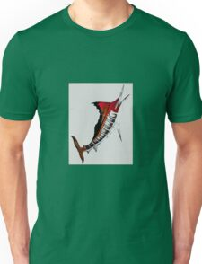 Electric marlin Unisex T-Shirt