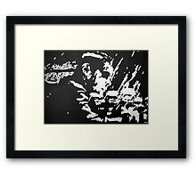 Run Neo, Run Framed Print