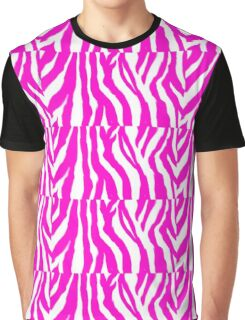 Zebra Deebra PINK Graphic T-Shirt