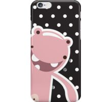 Card with cute colorful monster iPhone Case/Skin