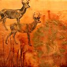 a sad story about a deer and a man by HeatherRose
