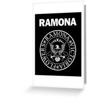 Ramona - White Greeting Card