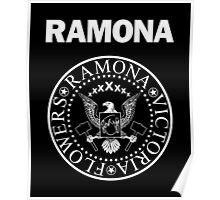 Ramona - White Poster