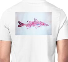 Surreal Pink Snook Unisex T-Shirt