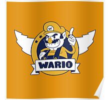 Wario the Treasurehog Poster