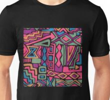 retro pattern Unisex T-Shirt