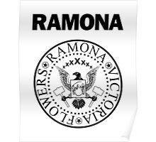 Ramona - Black Poster