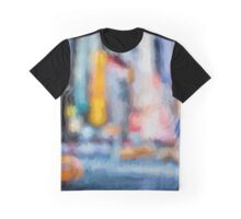 New York Abstract Graphic T-Shirt