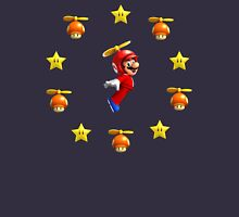 Mario in the sky Unisex T-Shirt