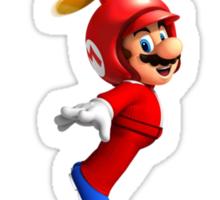 Mario in the sky Sticker