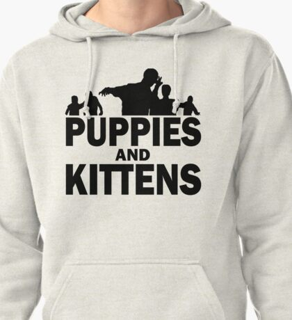 Z Nation: Puppies and Kittens Pullover Hoodie