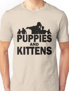 Z Nation: Puppies and Kittens Unisex T-Shirt
