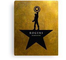 Rogers: An American Hero Canvas Print