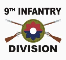 9th Infantry Division - Crossed Rifles by VeteranGraphics