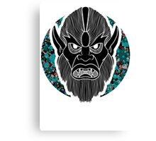 Beastman invert  Canvas Print