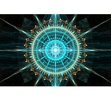 Fractal Stargate Photographic Print