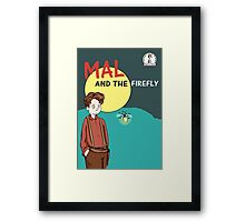 Mal and the firefly Framed Print