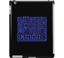 Pac man circuit  iPad Case/Skin