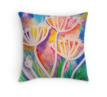 Summer light Throw Pillow