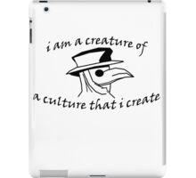 Culture That I Create - Small Design iPad Case/Skin