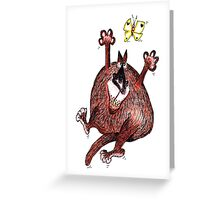 ObesiCat: Would've caught 'm if it wasn't for my diet... Greeting Card