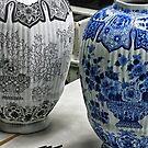 ceramic vases- Delftware factory by David Chesluk