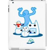Diversity in the Snow iPad Case/Skin