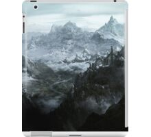 Skyrim landscape Blackreach print iPad Case/Skin