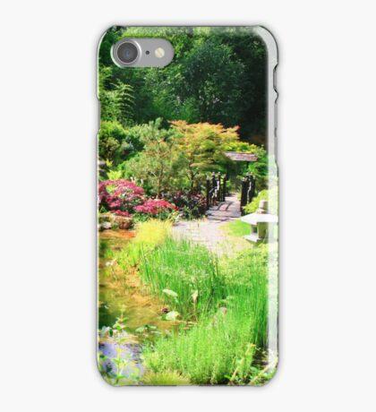The Tea Garden, Kingston Lacy House, Dorset iPhone Case/Skin